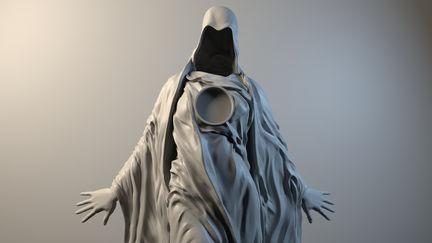 Creepy Woman Statue