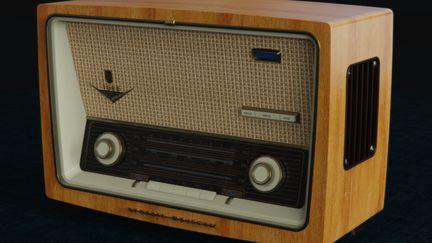 Vintage Grundig Majestic 1088 Radio