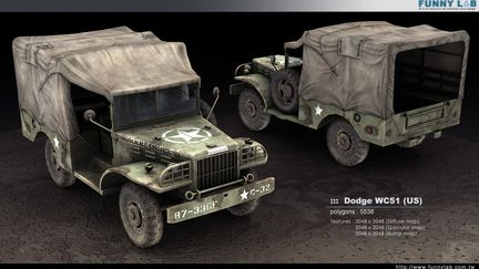 3D vehicle - Dodge WC51