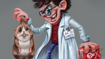 DR.Chaos and his pet