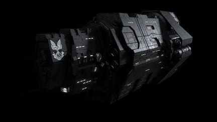 UNSC Cruiser Halcyon