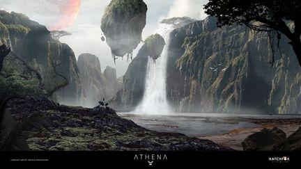 Athena - Environment Concept Art