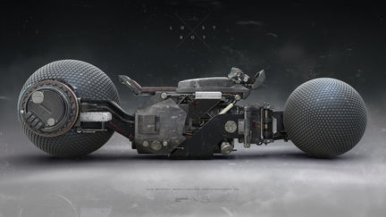LOSTBOY, LB-378 motorcycle concept