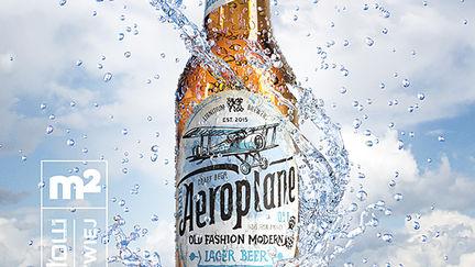 Blue Aeroplane beer