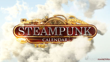 Steampunk Calendar Logo