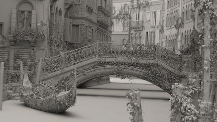 Venice night grey shaded