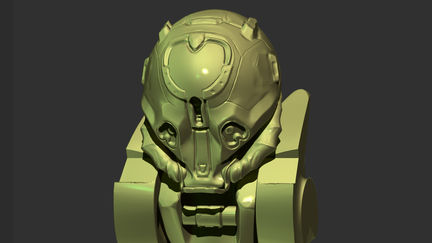 Halo Inspired Sculpt