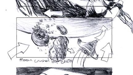 noir type story board