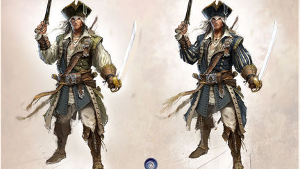 Assassin's Creed 3 Connor's Captain Kidd outfit concept