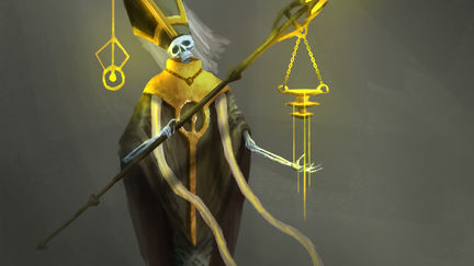 Dead cleric