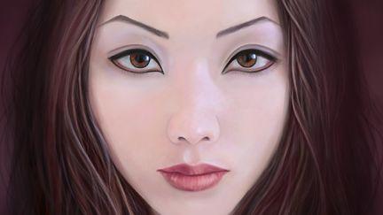 Portrait of R .Ikeda