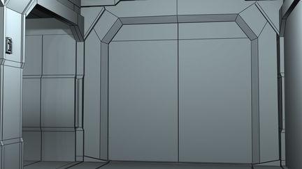 Space Corridor 1 Wire