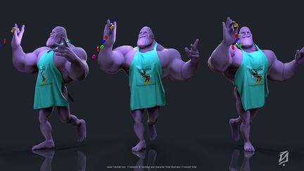Thanos end game toon