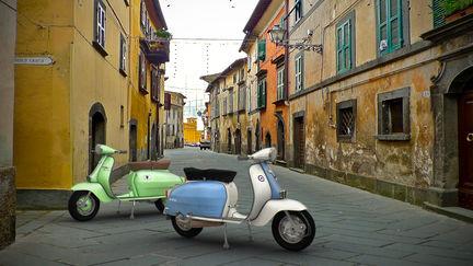 1960s Lambretta Motor Scooters