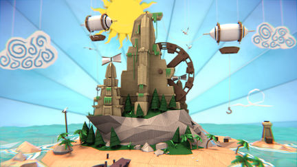 Welcome to Papercraft Island