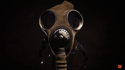 Realistic CG Gas Mask