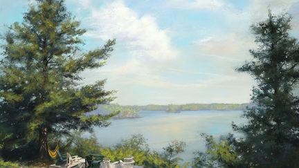 A Cottage Lake View