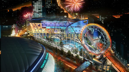 Perspective 3D Tokyo Dome Julien Weber