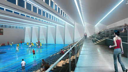 Sports complex By rainy day( Julien Weber ) 2/2