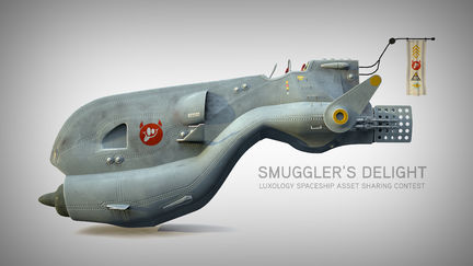 Smuggler's Delight - Spaceship