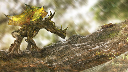 The Wood Dragon and the Cricket