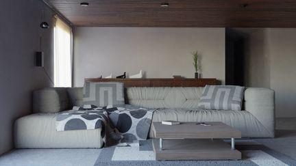 Wood Living Room