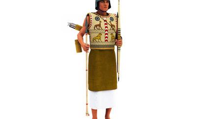 Ancient Egypt Chariot Warrior NK B