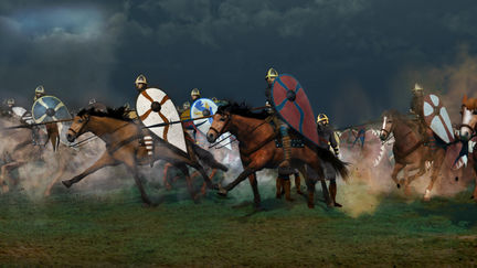 Norman Charge Hastings 1066