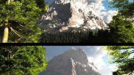 Talon Peak - A Mountain Study