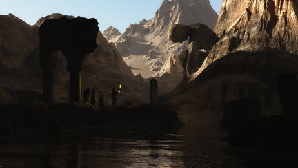 The Valley of the Lost Gods