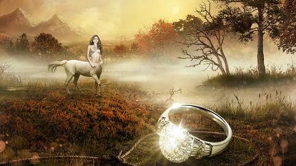 Centaur in swamps - Alo diamonds