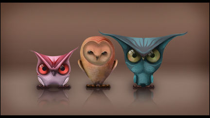 The 3 owls