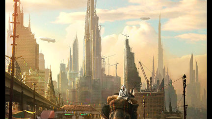 Steam Punk Oriental City