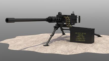 50 Cal. Machine Gun