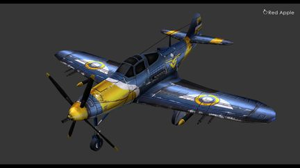 Fight Plane in 3D