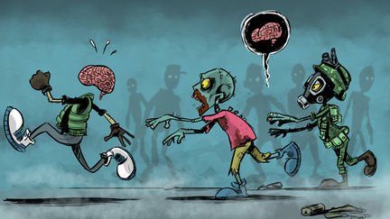 Daily Sketch - Zombies