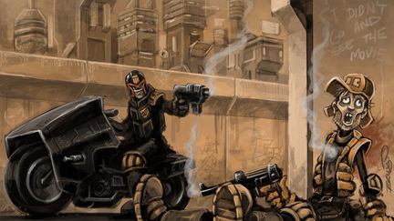 Dredd: Judgement time