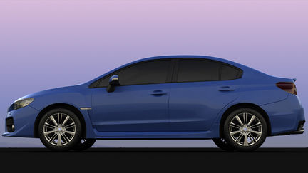 Subaru Impreza side.