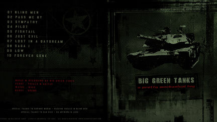 Big Green Tanks - Album Cover