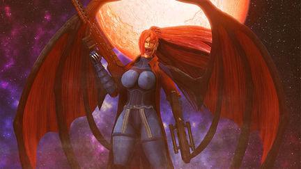 Elsa Bloodstone Vampire Queen