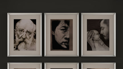 3D Frames, Roxana Cotar drawings