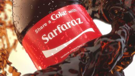 Share A Coke with Sarfaraz