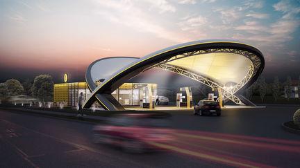 Slovnaft Gas station
