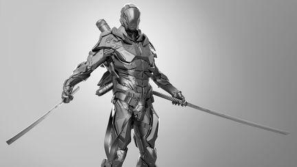 Futuristic Soldier Suit