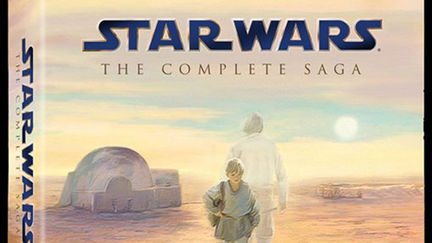 Star Wars Complete Saga on BluRay