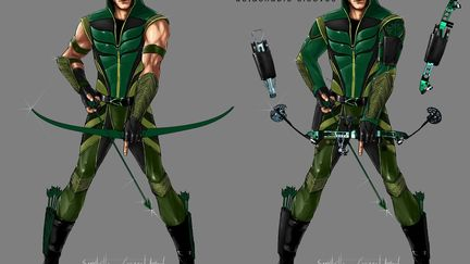 Green Arrow concept design