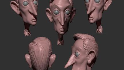L'Artiste 3D...
