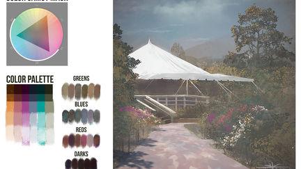 Color Plein-air SB Botanical Gardens  | Brainstorm School DC1 | VisualPops