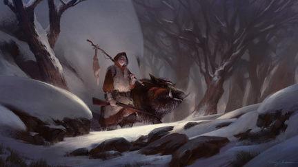 A Huntress