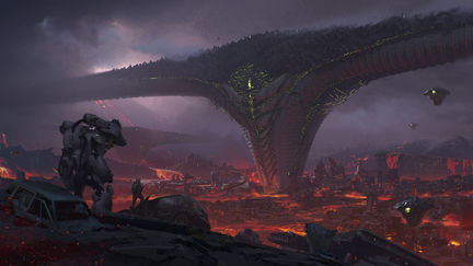 The Alien Base